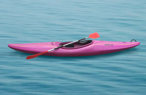 reserveer sportieve kano